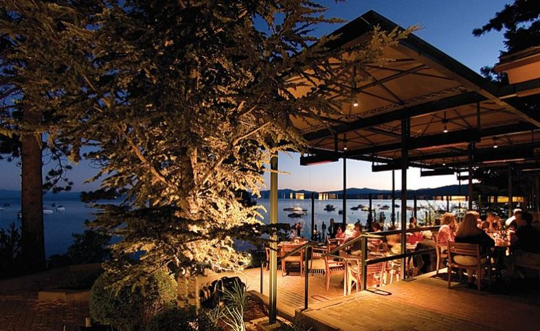 Tahoe West Shore Patio Dining